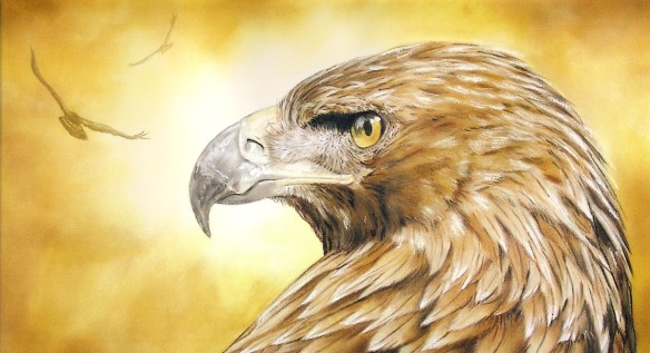 Eagle-eyed by John Mark Long: courtesy www.propheticartists.com