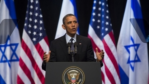 Obama in Israel - Courtesy D Pipes
