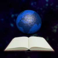 Puzzle Globe and Book by Thanunkorn