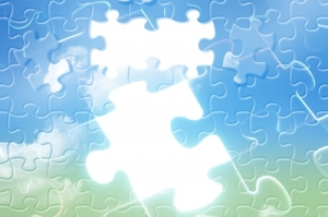 Puzzle in sky - Idea go