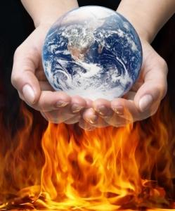 World In Fire by Danilo Rizzuti
