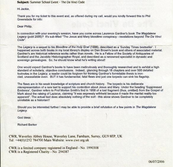 Magdalene Legacy email