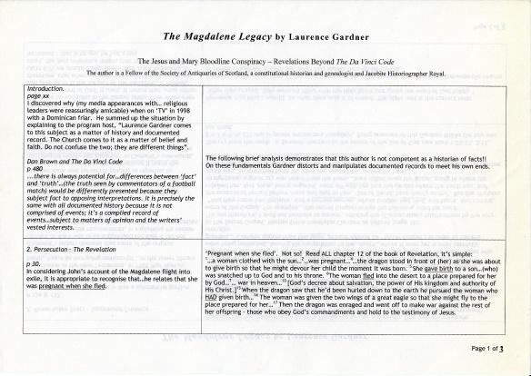 Magdalene Legacy p1