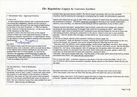 Magdalene Legacy p2