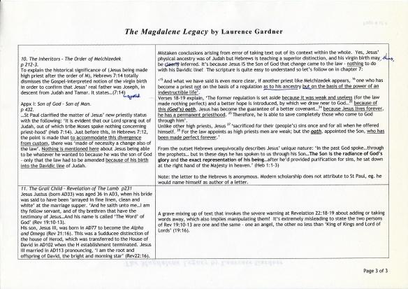 Magdalene Legacy p3