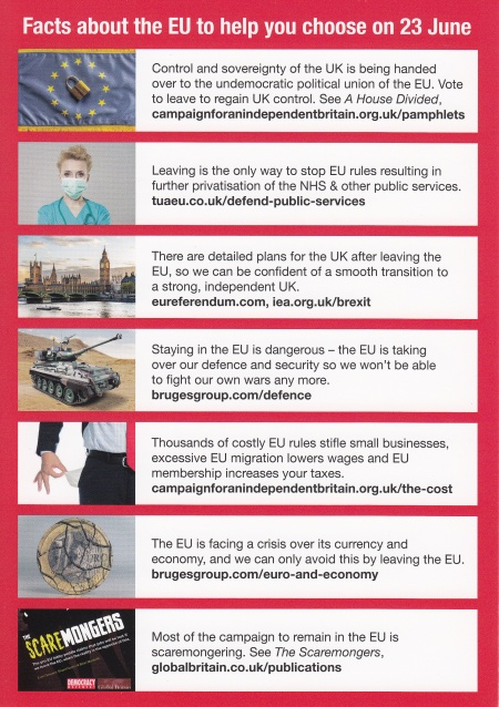 Some facts about EU to aid in Referendum choice