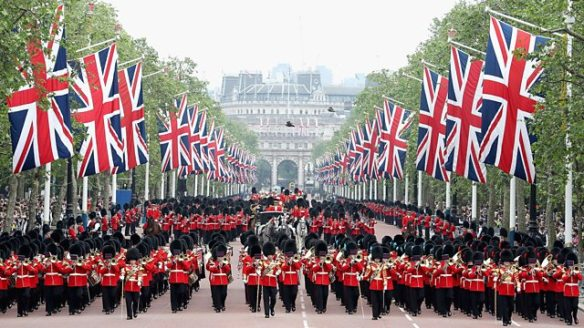 March post-Trooping the Colour 2016