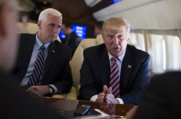 trump-pence-plane