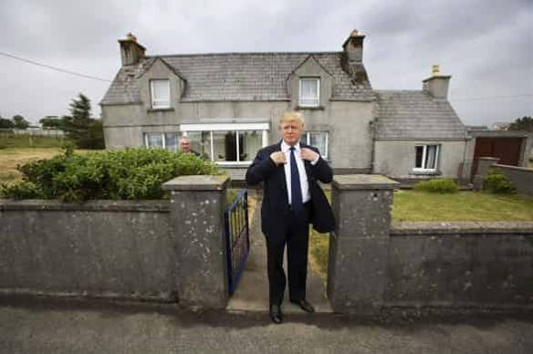Trump at 3-5 Tong on the island of Lewis Photograph by Murdo MacLeod