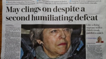 Monday newsmix: headlines again echo Brexit prophecy (Fulfilled